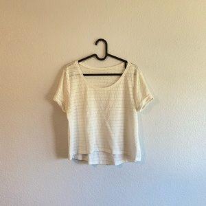 Crop t-shirt H&M